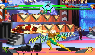 X-Men vs Street Fighter (960919 Asia)