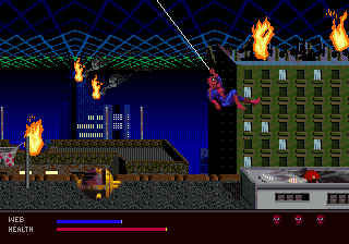 Amazing Spider Man The Web of Fire (USA)