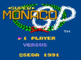 Super Monaco GP (USA Europe)
