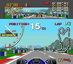Ayrton Senna's Super Monaco GP II (USA)